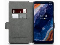 CaseBoutique Slim Wallet Case Zwart - Nokia 9 PureView hoesje
