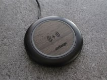 Aircharge Executive Black Ebony - Houten QI Oplader