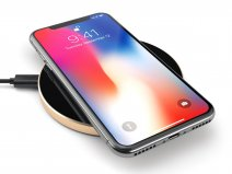 Satechi Aluminium QI Wireless Charger Draadloze Lader - Gold