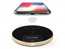 Satechi Aluminium QI Wireless Charger - Gold