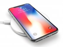 Satechi Aluminium QI Wireless Charger - Silver