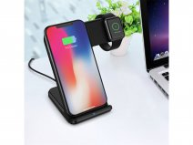 Sdesign 2in1 Wireless Charging Stand - Draadloze Oplader Qi