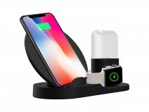 Sdesign 3in1 Wireless Charging Stand - Draadloze Oplader Qi