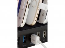 Mobiparts 8 Poort Powerstation - Oplader voor 8 Devices