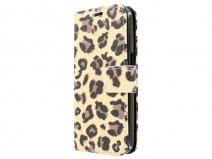 Leopard Book Case Hoesje voor Samsung Galaxy Core Plus
