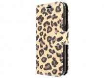 Leopard Book Case - Samsung Galaxy Core 2 hoesje