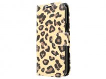 Leopard Book Case - Samsung Galaxy Core 4G hoesje