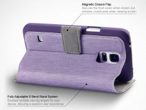 Covert UltraSlim Book Case - Hoesje voor Samsung Galaxy S5 Mini