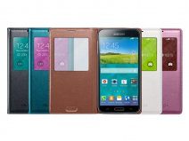 Originele Samsung Galaxy S5 Mini S-View Cover Hoesje