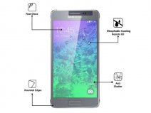 Supersterke Glazen Screenprotector voor Samsung Galaxy Alpha
