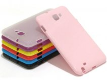 Color TPU Case - Samsung Galaxy Note N7000 Hoesje
