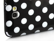 Polka Dot TPU Soft Case Hoesje voor Samsung Galaxy Note 2 (N7100)