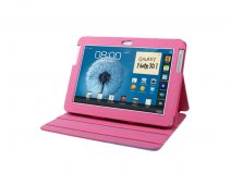 Colorblock Stand Case Hoes voor Samsung Galaxy Note 10.1 (N8000)