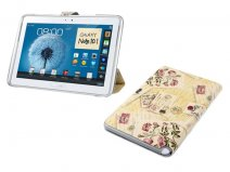 Romantic Stand Case Hoes Samsung Galaxy Note 10.1 (N8000)