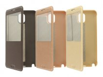 KLD Ka Series Window Case - Hoesje voor Samsung Galaxy Note 3