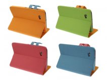 Colorblock Stand Case Hoes voor Samsung Galaxy Tab 2 7.0