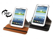 Canvas Swivel Stand 360-turn Case Samsung Galaxy Tab 3 (7.0)