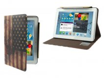 USA Vintage Flag Case Samsung Galaxy Tab 2 10.1 (P5100)