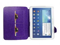Deluxe Stand Case - Samsung Galaxy Tab 3 10.1 hoesje