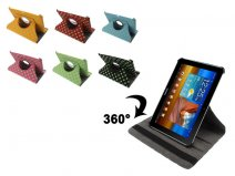 Polka Dot Swivel Stand Stand Case Samsung Galaxy Tab 8.9