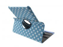 Polka Dot Swivel Stand Stand Case Samsung Galaxy Tab 10.1