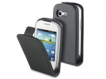 Muvit Slim Elegant Leather Case - Hoesje voor Samsung Galaxy Star