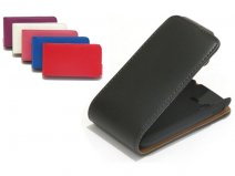 Classic Leather Flip Case Samsung Galaxy Pocket (S5300)