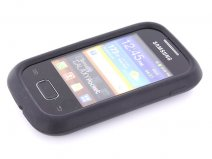 Mobiparts Silicone Skin Case Hoes voor Samsung Galaxy Pocket (S5300)