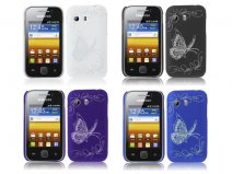 Butterfly Back Case - Samsung Galaxy Y S5360 hoesje