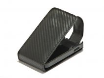Carbon Leather Case Samsung Galaxy Ace S5830
