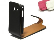 Classic Leather Case voor Samsung Galaxy Y Duos (S6102)