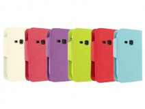 Color Sideflip Case - Samsung Galaxy Young S6310 Hoesje