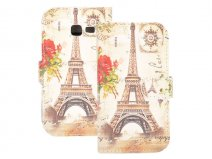 Paris Book Case - Hoesje voor Samsung Galaxy Trend Lite