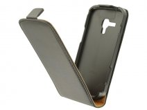 Slim Elegant Leather Case voor Samsung Galaxy Trend (Plus) / S Duos