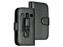 Wallet Riemclip Case - Hoes voor Samsung Galaxy Xcover 2 (S7710)