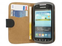Classic Book Case Hoesje voor Samsung Galaxy Xcover 2