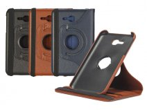 Classic Leather Swivel Case - Hoes voor Samsung Galaxy Tab 3 7.0 Lite