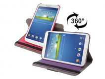 Canvas Swivel Stand 360-turn Case Samsung Galaxy Tab 3 (8.0)