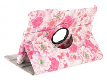 Floral Stand Case - Samsung Galaxy Tab 4 10.1 Hoesje