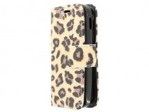 Leopard Book Case Hoesje voor Samsung Galaxy Pocket 2