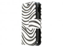 Zebra Book Case Hoesje voor Samsung Galaxy Pocket 2