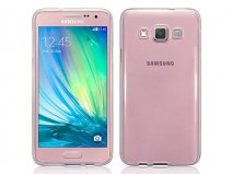 Crystal TPU Soft Case - Samsung Galaxy A3 2015 hoesje