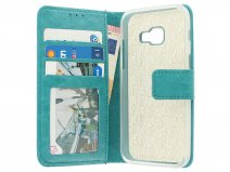Bookcase Turquoise - Samsung Galaxy A3 2017 hoesje