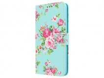 Flower Book Case - Samsung Galaxy A5 (2016) hoesje