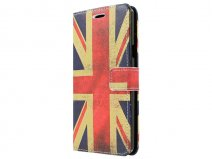Samsung Galaxy A7 Hoesje - Vintage Great Brittain Flag