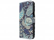 Paisley 3D Bookcase - Samsung Galaxy J3 2016 hoesje