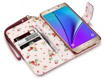 Samsung Galaxy Note 5 hoesje - Terrapin Flower Case