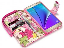 Samsung Galaxy Note 5 Hoesje - Terrapin Lily Case