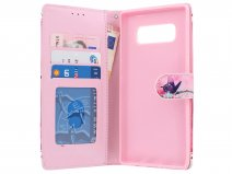 Butterfly Bookcase - Samsung Galaxy Note 8 hoesje