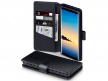 CaseBoutique Case Zwart Leer - Samsung Galaxy Note 8 hoesje
